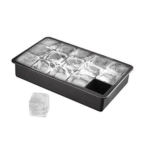 15-fach XL Eiswürfelform aus Silikon, riesige Eiswürfel, XXL Eiswürfel 3 x 3 x 3 cm (In Kunststoff-würfel Fehler)