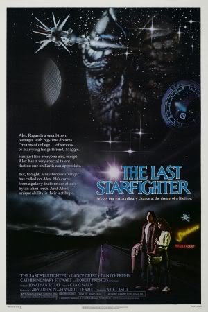 THE LAST STARFIGHTER – Imported Movie Wall Poster Print – 30CM X 43CM Brand New