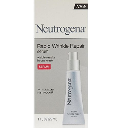 Neutrogena Rapid Wrinkle Repair Serum 29 ml (Pack of 3) (Gesichtswasser)