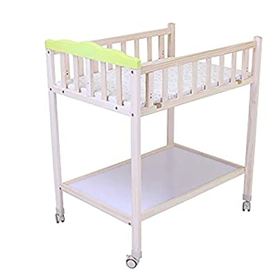 Multifunction Baby Changing Table | Wood Baby Diaper Station Unit Bath | Nursery Dresser with Baby Storage Organizers and Bath Tub