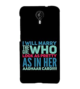 ifasho Designer Back Case Cover for Micromax Canvas Nitro 4G E371 (Relationship Home Entertainment)