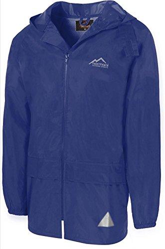 normani Leichte Windjacke/Regenjacke im Beutel, Unisex - Erwachsene Farbe Navy Größe M