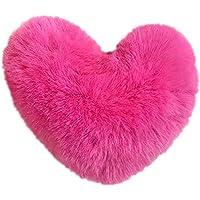 5 pezzi a forma di cuore con pon pon in pelliccia sintetica per portachiavi  cappello scarpe afe55a3b36bd