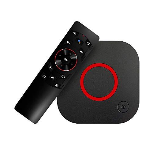 Infomir MAG 425A Android TV 8.0 4K 60FPS HEVC 2.4/5GHz WiFi, 2GB RAM, 8GB Flash, Bluetooth 4.1, Sprachfernbedienung, HDR10, HDMI 2.0a, Micro SD Slot, Ministra TV, Chromecast IPTV OTT Player - 8 Gb Nand-flash