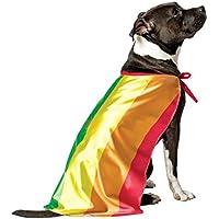 Costume da bandiera gay pride per cane travestimento carnevale halloween  abito a righe porta il tuo bcb1f3095b68
