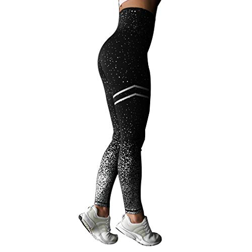 Watopi Damen-Laufhosen, Yogahosen, Modetarnung, enge Leggings, Sportswearhosen