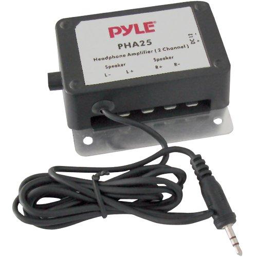 Pyle PHA25 - Amplificatore stereo, con jack 3,5 mm, 300 W, colore: Nero