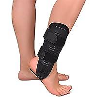 Soles Aircast Stabilizzatore Caviglia Brace Con Pad in (Stecca Di Sostegno Del Gancio)