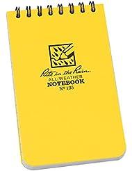 Rite in the Rain Universal Notebook - Set de mantenimiento para acampada, color blanco, talla 3 x 5 Inch