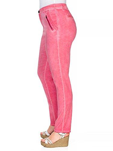 sheego Casual Damen Chinohose Übergröße neue Kollektion Rosa