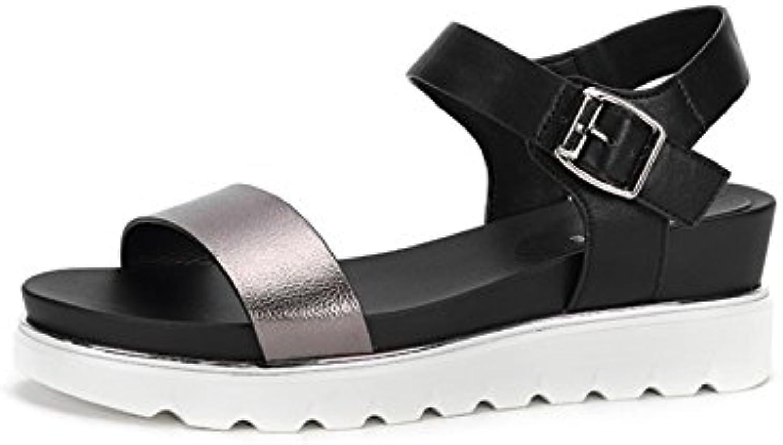 GTYW Lady Velcro Sandalen Klett Sandalen Sommer Mode Street Sports Unisex Casual Damenschuhe