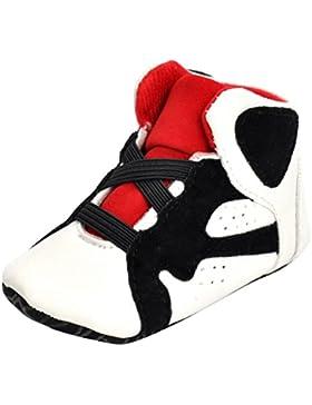 MagiDeal Zapatillas de Deporte de Bebé Casual de Cordón Ligero Zapatos para Caminar 11cm Bebé 0-12 Meses