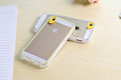 aeonaz clignotant Coque anti-chocs hybride en polycarbonate pour iPhone 5/5S Carreaux * * * * * * * * OFFRE SPÉCIALE * * * * * * * * Blanc/jaune