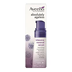 Aveeno Active Naturals Absolutely Ageless Intensive Renewal Serum, Blackberry, 1 oz, 6 Pack