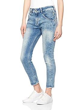 Meltin'Pot - Jeans LEIA D1669-UM395 per donna, modello dritto, vestibilità loose, vita bassa