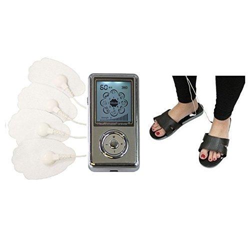 HealthmateForever 8 Modus Arthritis Schmerztherapie Massage Diabetic FußMassager für Nervenschmerzen Silber