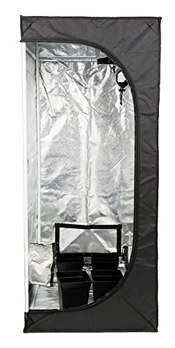 Tente hydroponique Senua de 50 x 50 x 100 cm