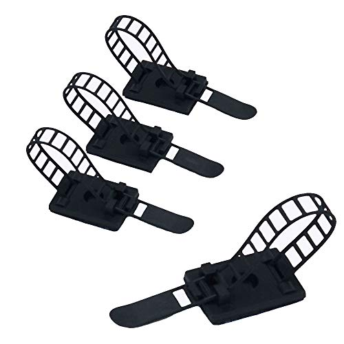 20pcs ajustable Cable Tie Bracket abrazadera de cable clip de alambre de...