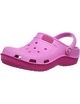 crocs DuetWaveClgK Unisex-Kinder Clogs