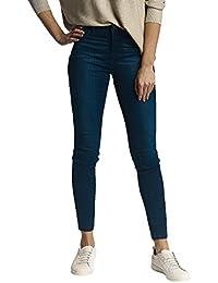 JDY Ladies Cotton Stretch Classic Five Pocket Indigo Blue Denim Wash Skinny Jeans