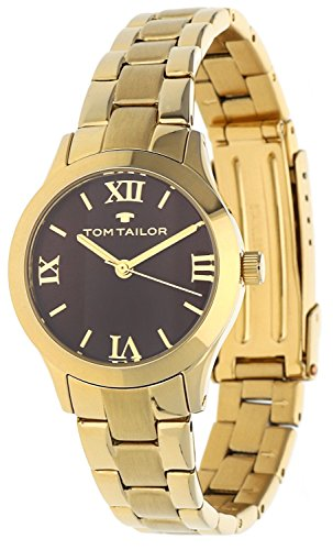 Tom Tailor Femmes Montre Or 5416203