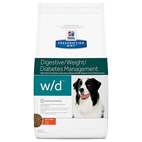 Hill´s Prescription Diet Canine w/d Ernährungshilfe für Hunde bei Diabetes mellitus und Adipositas 2 x 12kg