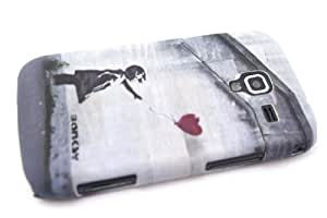 Grey Banksy Balloon Girl, Gris Banksy fille de ballonDesigner Samsung Galaxy Ace 2 i8160 Coque arriere Coque Case