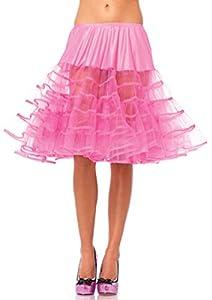 Leg Avenue- Mujer, Color rosa neón, Talla Única (EUR 36-40) (8304322029)