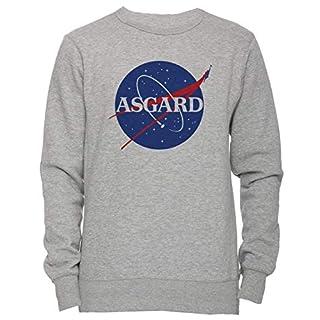 Erido Asgard NASA Unisex Men's Women's Jumper Sweatshirt Pullover Grey Large Size L