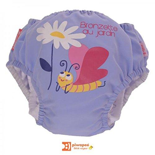 PIWAPEE - Maillot de bain couche papillon 8-11 kg