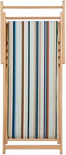 Chaise longue transat chilienne chalutier - Les Toiles du soleil
