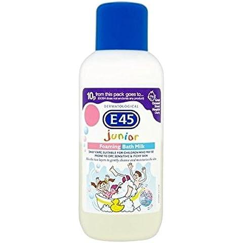E45 Junior Schiuma Di Latte Bagno 500Ml