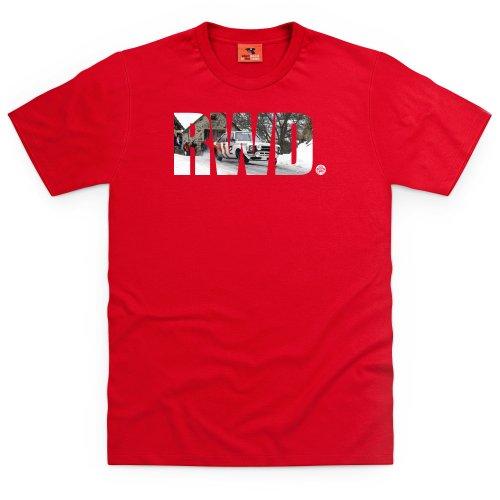 PistonHeads RWD T-Shirt, Herren Rot
