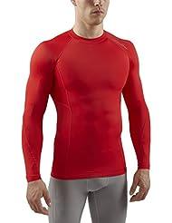 Sub Sports Herren RX Abgestufte Kompressionsshirt Funktionswäsche Base Layer langarm