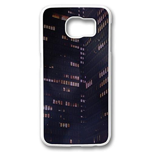 galaxy-s6-schutzhulle-beauty-weiss-prudential-jason-art-bokeh-night-building-city-muster-design-ultr