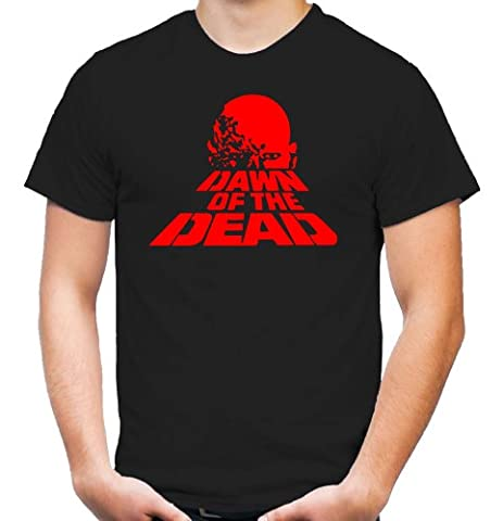 Dawn of the dead T-Shirt | Horror | SAW | Zombie | Psycho | Michael Myers | Freddy | Jason | Männer | Herren | Halloween | Kostüm | Es | Kult (L)