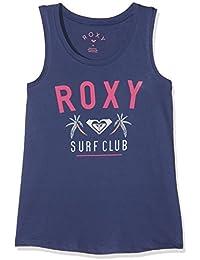 Roxy Sitting There Top Camiseta, Niñas, (Cobalto Oscuro/Solid), 12/L