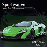 Sportwagen Sports Cars 2020 - Broschürenkalender - Wandkalender - mit Schulferientabelle und Jahresübersicht 2020 - Format 30 x 30 cm