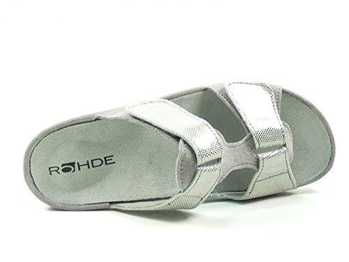 Rohde 5712 Giessen 40 Mules Femme Grau