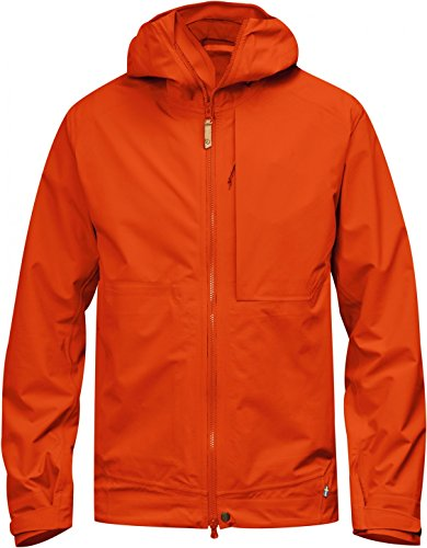 FjallRaven Veste de pluie Abisko Eco-Shell Jacket flame orange