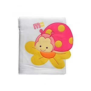Mee Mee Bee Baby Wrapper/Blanket (White)