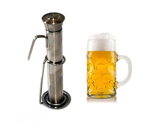 4 teiliger Bierwärmer aus Edelstahl Pilswärmer Bier Wärmer wärmen beer heater