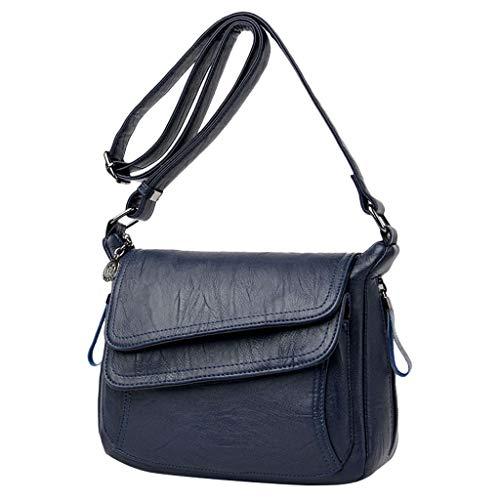 Handtasche Luxus Weiches Leder Vielseitige Messenger Bag Schultertasche ()