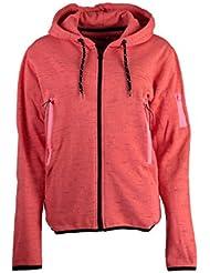 Geographical Norway Sudadera con Cierre Fashionista Rojo XL (FR 4)
