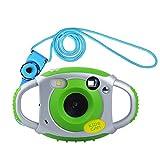 Funkprofi Kinder Kamera Kid Cam Mini Digital Camera Camcorder 5 Megapixel 1,77 Zoll Display Geschenk und Spielzeug für Kinder (Grün)
