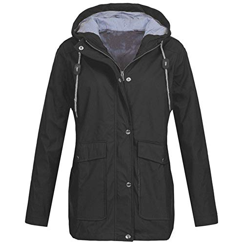 TIMEMEAN Womens Coats and Jackets Winter Sale with Hood Cardigan UK Warm...