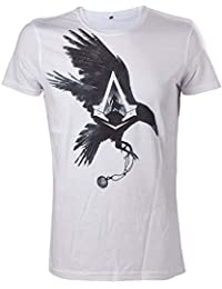 Assassins Creed Syndicate White Crow T-Shirt - Size Large (Electronic Games) [Importación Inglesa]