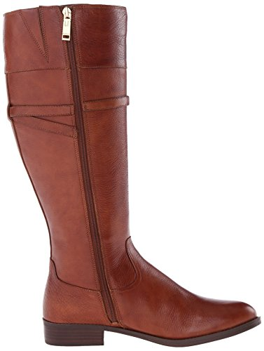 Tommy Hilfiger Delphy Cuir Botte Medium Brown