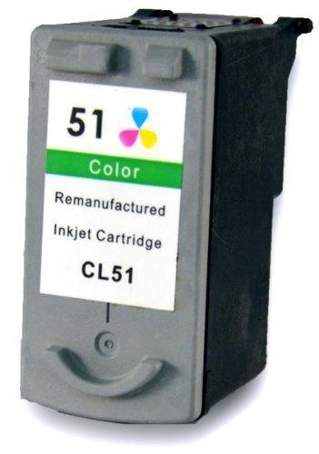 Bubprint Druckerpatrone kompatibel für Canon CL-51 CL 51 CL51 für Pixma IP2200 IP6200 IP6300 MP150 MP160 MP170 MP180 MP450 MP460 MX300 MX310 Color - 6320 Pixma