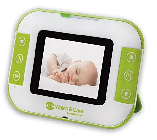 Audioline Watch & Care V142, Video Babyphone mit zwei Kameras